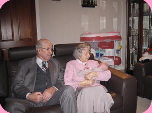 Great Granny & Granda Stevenson